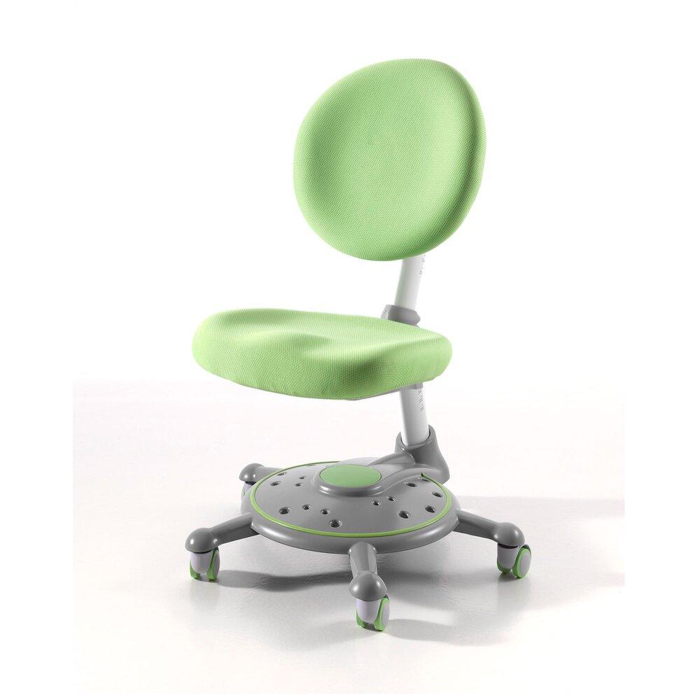 Chaise - Chaise de bureau enfant verte - LUFFY photo 1