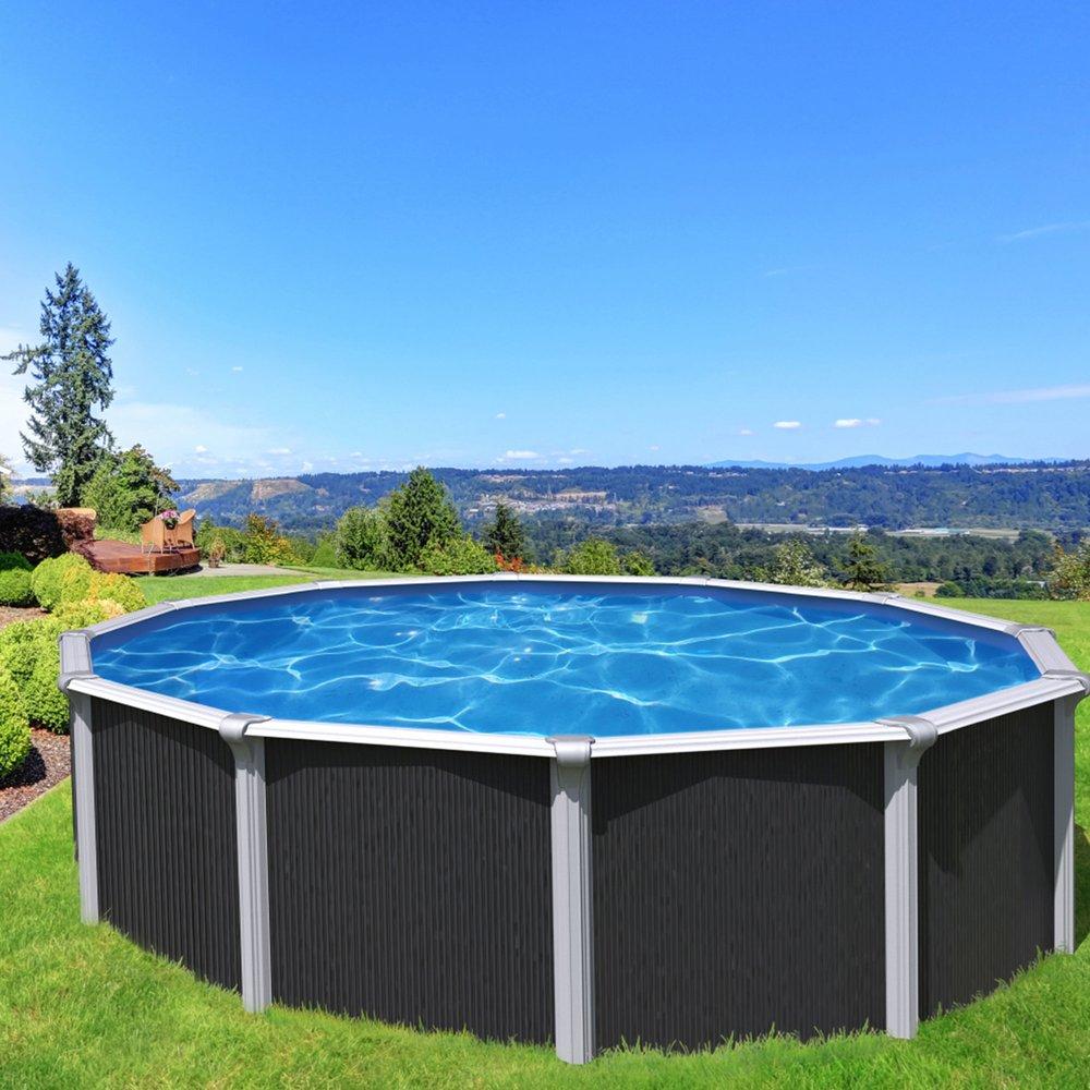 piscine hors sol ronde Villejuif