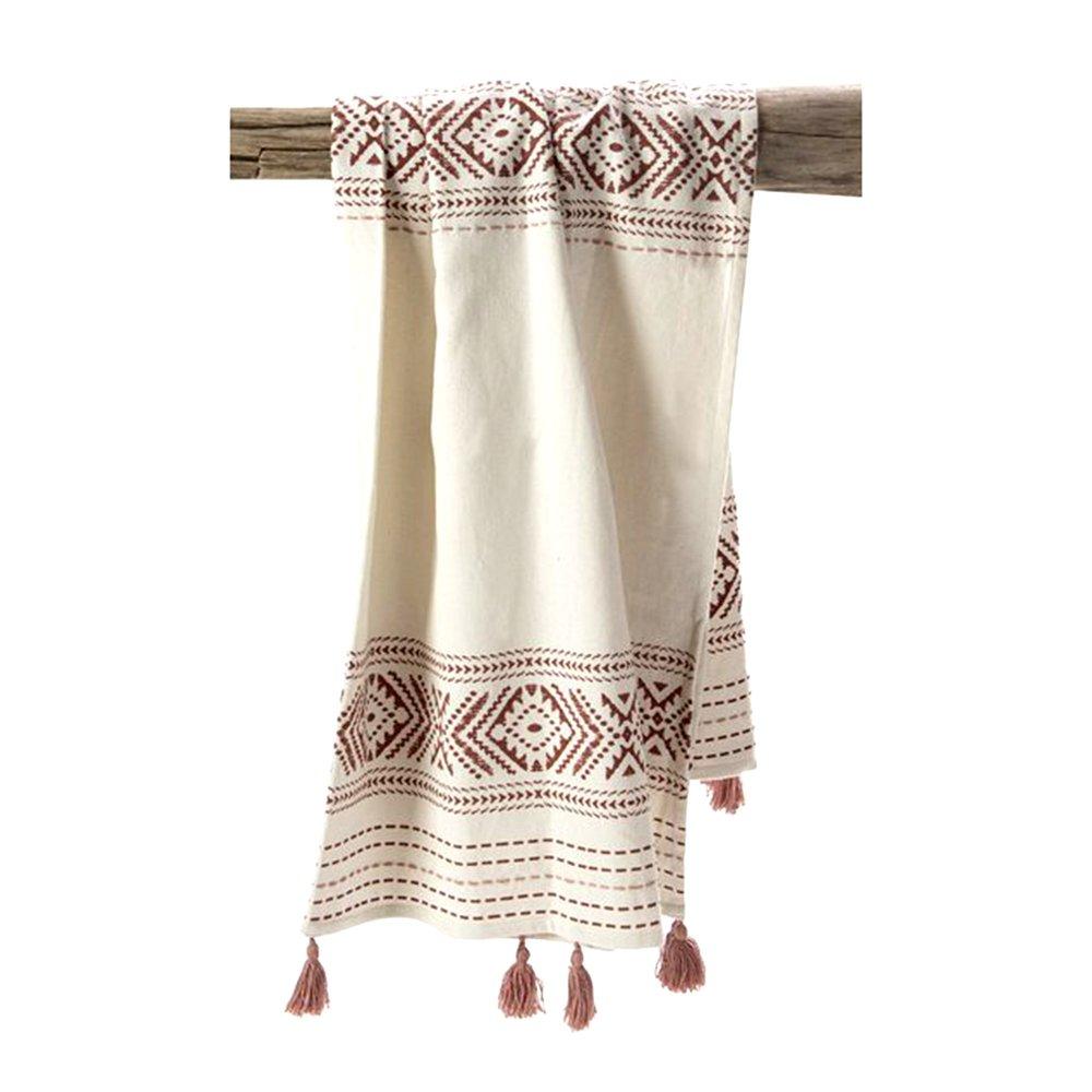 Couvre-lits et accessoires - Plaid 150x130 cm en coton - DIAMY photo 1