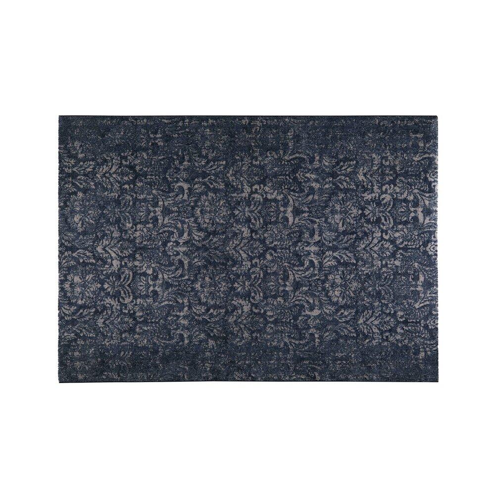 Tapis - Tapis 160x230 cm en velours bleu foncé photo 1