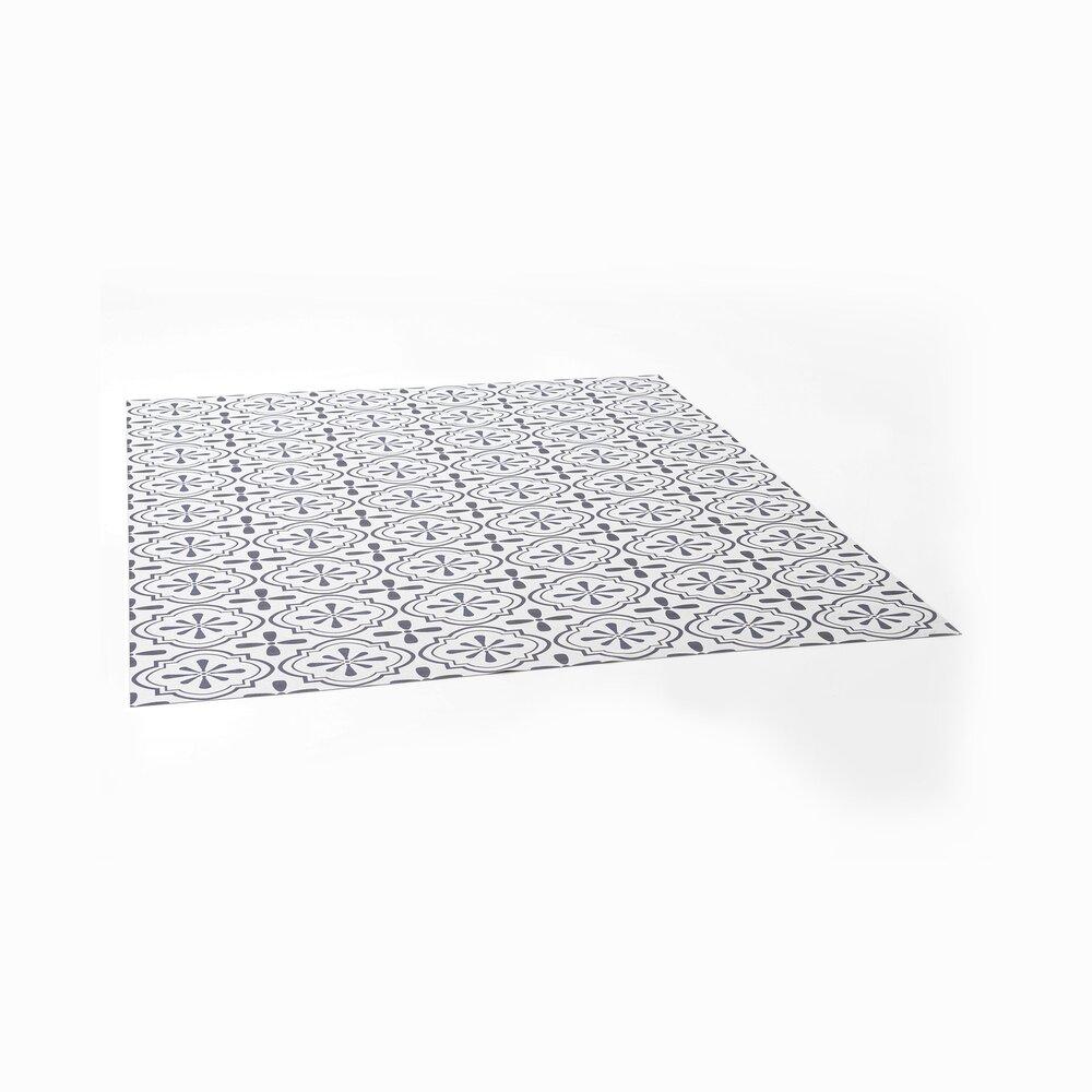 Tapis - Tapis vinyle 150x198 cm motif carreaux de ciment photo 1