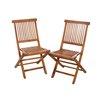 Meuble de jardin - Lot de 2 chaises java photo 2