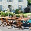 Meuble de jardin - Table rectangulaire double extension 200/300x120 photo 2