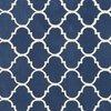 Tapis - Tapis 160x230 cm en velours bleu foncé - HAKIN photo 2