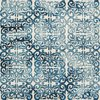 Tapis - Tapis 120x170 cm en laine et coton bleu - ALGO photo 2