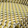 Fauteuil - Fauteuil 66x62x71 cm en tissu à motifs moutarde - ELISA photo 3