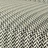 Fauteuil - Lot de 2 fauteuils 51x58x71 cm en tissu motifs noir et blanc - MEVIK photo 3