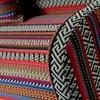 Canapé - Canapé 2 places 106,5x61x72 cm en tissu à motifs multicolores photo 3