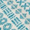 Tapis - Tapis 230x160 cm en tissu nuances de bleu photo 5