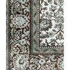 Tapis - Tapis avec franges 160x230 cm en tissu vert photo 4