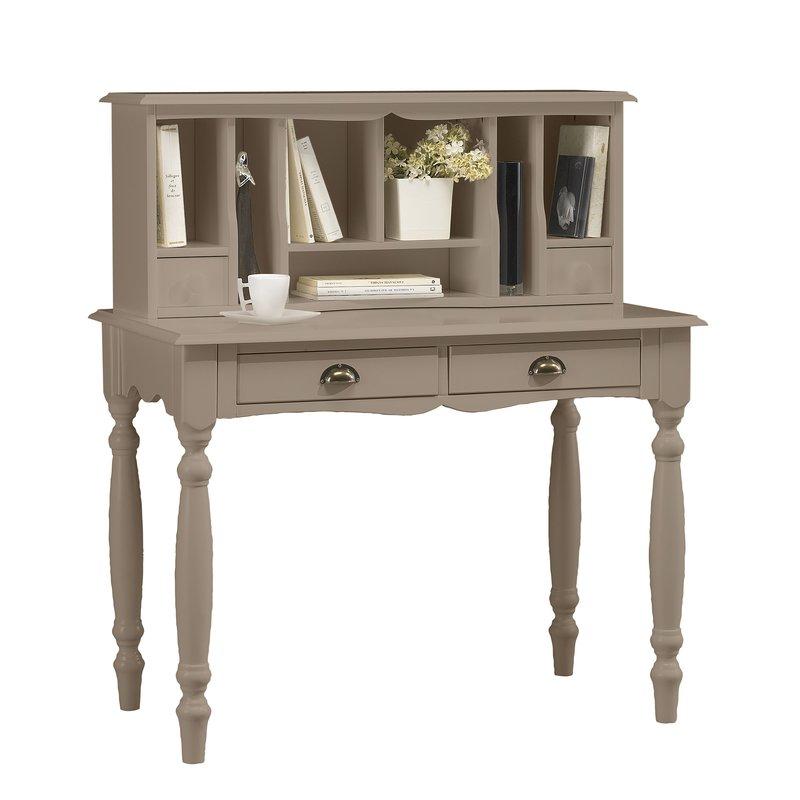 bureau secr taire taupe charme maison et styles. Black Bedroom Furniture Sets. Home Design Ideas