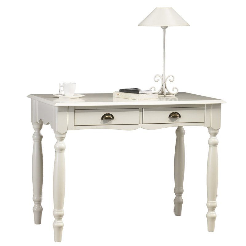 Table blanche crire de style anglais maison et styles for Maison de style anglais