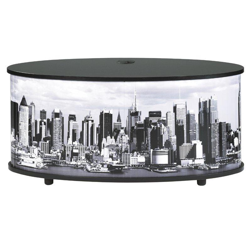meuble tv classeur rideau decor town noir maison et styles. Black Bedroom Furniture Sets. Home Design Ideas