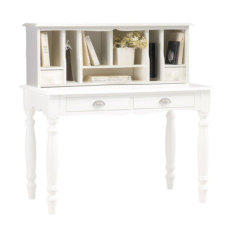 surmeuble pour table crire blanche maison et styles. Black Bedroom Furniture Sets. Home Design Ideas