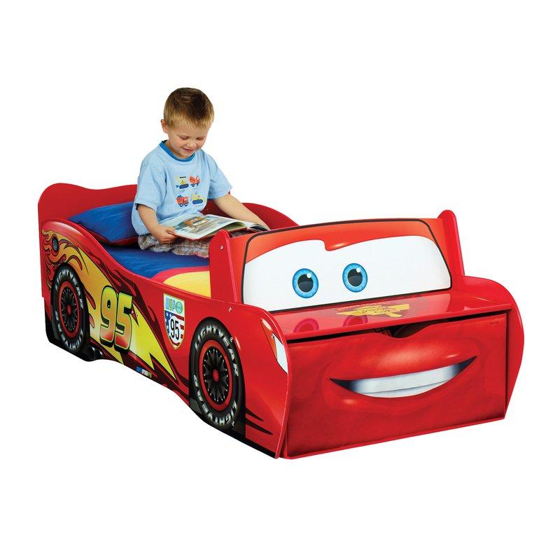 lit voiture flash mc queen 140x70cm avec tiroir coloris rouge maison et styles. Black Bedroom Furniture Sets. Home Design Ideas