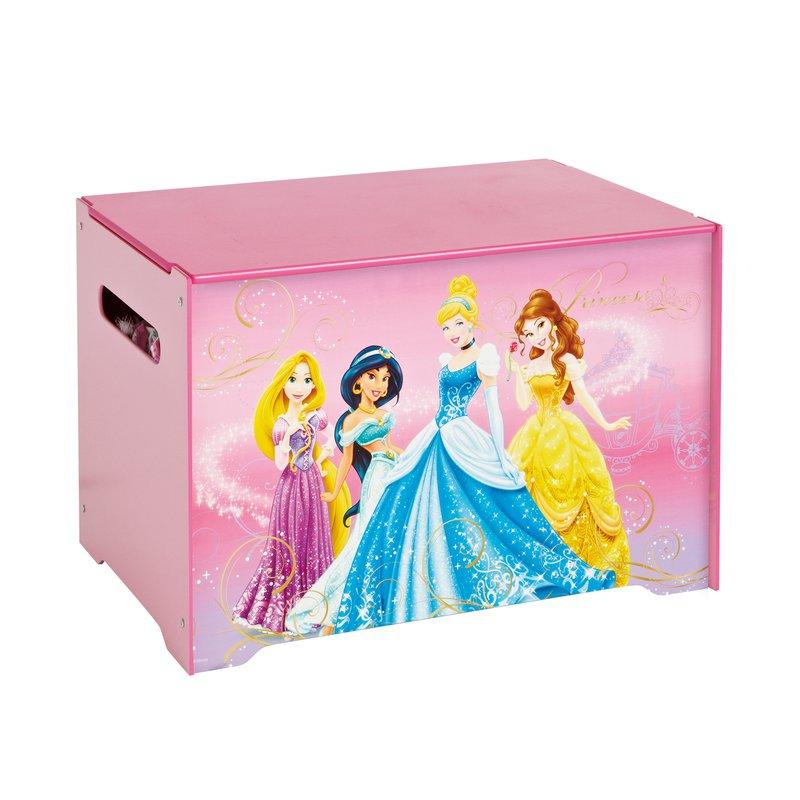Coffre De Rangement Princesses Disney Coloris Rose