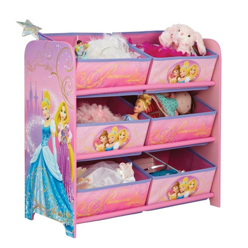 meuble rangement corbeilles princesses disney maison et styles. Black Bedroom Furniture Sets. Home Design Ideas