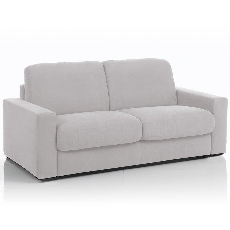 canap convertible 3 places maxi tissu d houssable gris perle maison et styles. Black Bedroom Furniture Sets. Home Design Ideas