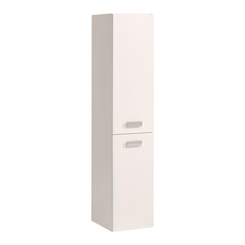Colonne 2 portes 30x35x145cm coloris blanc laqu maison - Colonne blanc laque ...