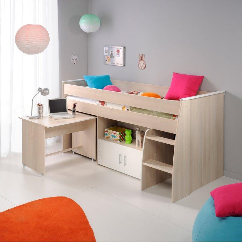 lit superpos 90x200cm maison et styles. Black Bedroom Furniture Sets. Home Design Ideas
