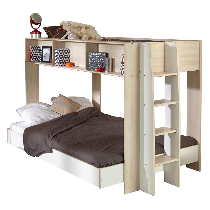 lit superpos 140x200cm 90x200cm maison et styles. Black Bedroom Furniture Sets. Home Design Ideas