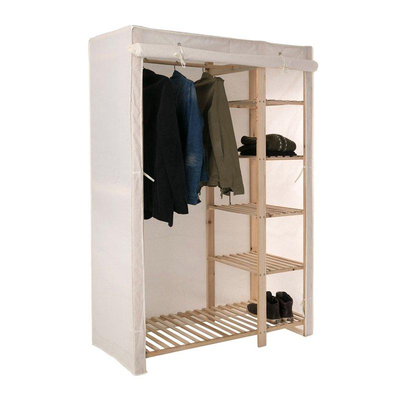 etag re penderie r versible en sapin massif maison et styles. Black Bedroom Furniture Sets. Home Design Ideas