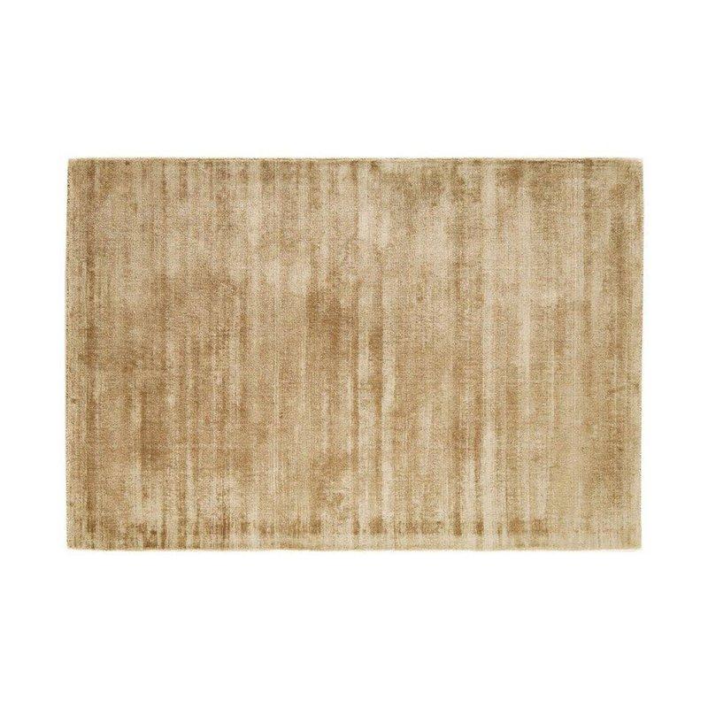 Tapis - Tapis 120x170 cm en viscose beige - FLASH photo 1