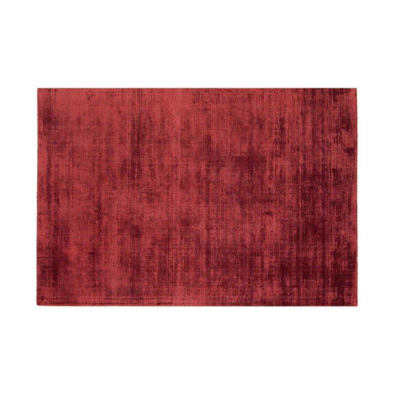 Tapis - Tapis 120x170 cm en viscose rouge - FLASH photo 1
