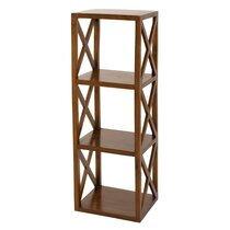 Etagère 40 cm avec 3 niveaux en bois - VOTARA