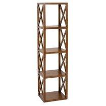 Etagère 40 cm avec 4 niveaux en bois - VOTARA
