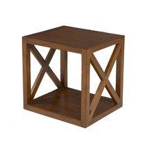 Etagère 40 cm 2 niveaux en bois - VOTARA