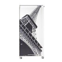 Armoire informatique 1 tiroir + 1 rideau Paris coloris blanc