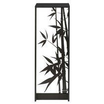 Classeur à rideau noir bamboo H103cm