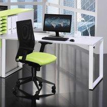 Bureau droit professionnel 160x80 cm coloris blanc