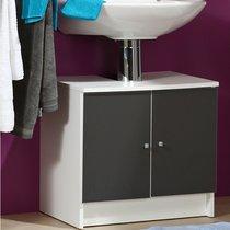 Meuble sous vasque 59x38x55cm coloris gris anthracite