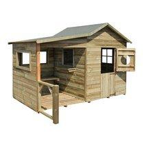 Maison de jardin en bois Hacienda 243x125x175cm