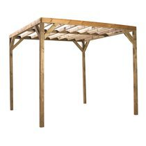 Pergola en bois Kuba 300x300x240cm