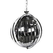 Lampe suspendue design 33x40x44cm EMIIO - chrome