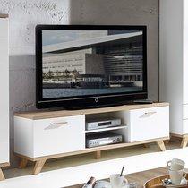 Meuble télé 144x49x40cm - décor chêne