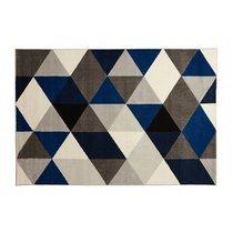 Tapis 230x160cm - bleu