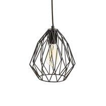 Lampe suspension métal noir - FYLAIRE