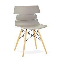 Chaise design gris - STRAVAS