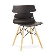 Chaise design noir - STRAVAS