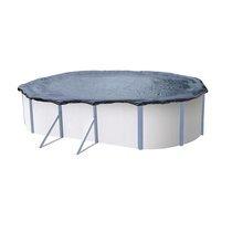 Bâche à bulles pour piscines de taille 9,15 x 4,6 m