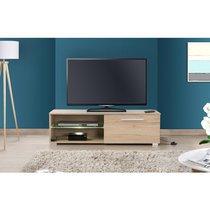 Meuble TV Led chêne - TAYS