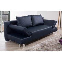 Canapé lit bleu foncé - LYSTO