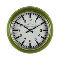 Horloge Besançon Verte D50X7.5cm