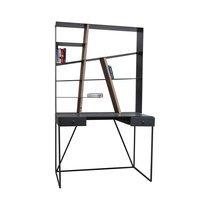 Etagère Bureau Metalaz 110x25xH110cm en bois et métal