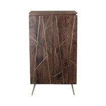 Meuble Bar Milano 72x55xH129cm en bois