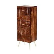 Chiffonnier Milano 5 tiroirs 45x35xH120cm